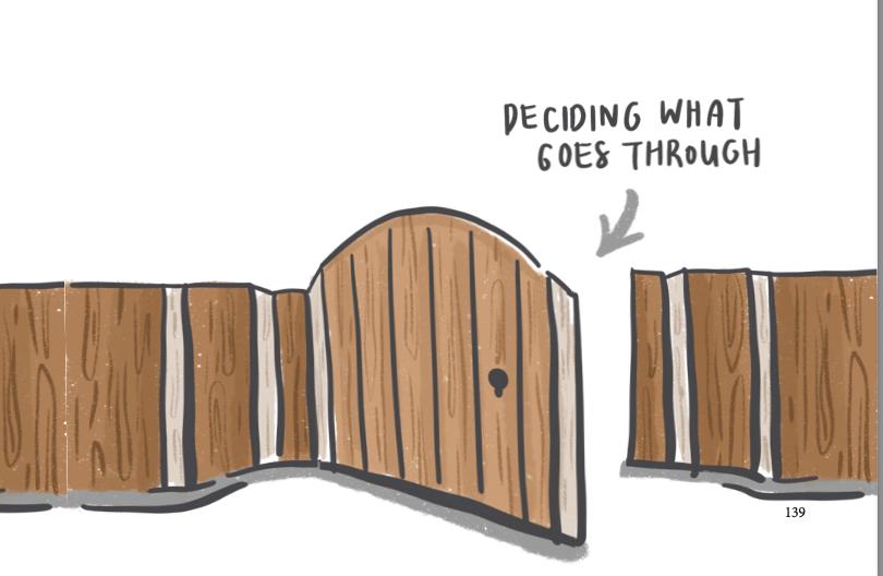 start placing boundaries at work